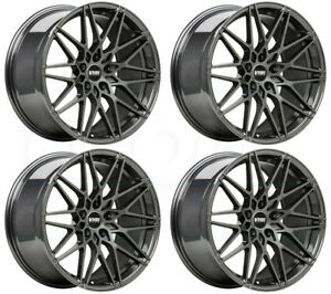 18x9 5 Vmr V801 5x112 25 Anthracite Wheels Rims Set 4