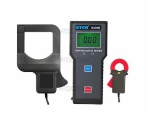 Transformation Etcr9300b 0 00ma 1000a Ratio Tester Current Low Voltage Ei