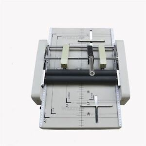 A3 Paper Booklet Binding Folding Machine New Manual Booklet Stapler Ws