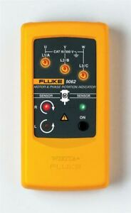 1pcs Motor And Phase Rotation Indicator Fluke New 9062 Tester Xf