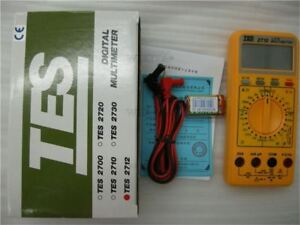 Digital Multimeter Lcd Data hold And Peak hold 1 2 Lcr Multimeter 3 Tes 2712