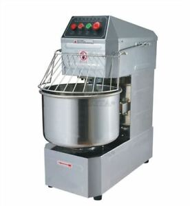 220v Dough Mixer Double Action Spiral 20l Double Speed Household Commercial Sn