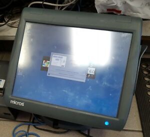 400814 001 Micros Ws5 Workstation 5 Pos Touchscreen System 7 Units Available