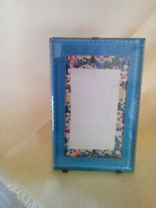 Vintage 1881 Glass Picture Frame