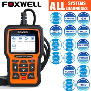 Automatic Obd2 Abs Airbag Sas Dpf Tpms Epb Reset Engine Scan Tool Foxwell Nt510