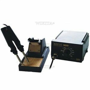 Smd Aoyue 950 Hot Tweezer Repair Soldering Station Rework Station Ro