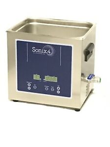 Sonix 4 10l Bench Top Ultrasonic Cleaner For Jewelry Watch Circuit Boards