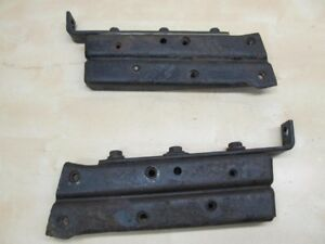 Bumper Ends Mount Bracket Set 1967 1968 Chrysler Imperial 68ci2 7m0 a