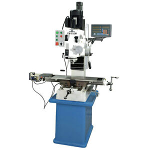 Pm 932m pdf Vertical Milling Machine Power Down Feed 3axis Dro Free Shipping