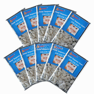 10 Box Dental Temporary Crown Replacement Anterior Teeth 22 23 24 Mixed