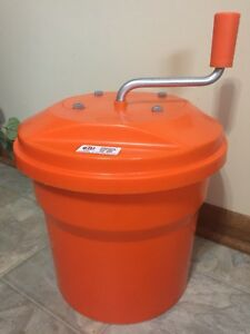 10l Dynamic Usa Commercial Manual 2 5 Gallon Salad Spinner Dryer Nsf