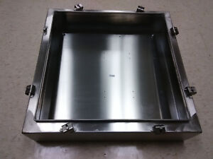 Stainless Steel 24 X 24 Electrical Enclosure Box