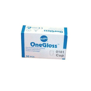 Shofu Dental Corp 0181 Onegloss Refill Cup Shape Silicon 50 pk