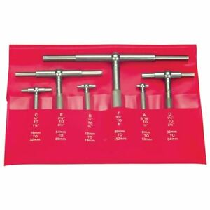 Pec Ftg 4 4 Pc 5 16 2 1 8 Telescoping Gage Set