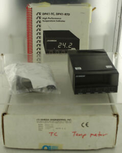 Omega Engineering Dp41 tc Panel Meter Thermocouple Controller