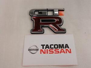 Genuine Nissan Oem Trunk Emblem Badge R34 Skyline Gtr Jdm New 84896 aa400
