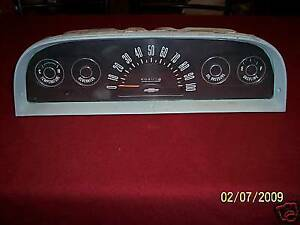 1960 1961 1962 1963 Chevy Gmc Truck Instrument Cluster Used Gm Oem