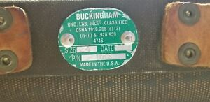 Pre owned Buckingham 474s Lineman Climbing Safety size 24