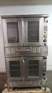 Blodgett Fa100 Double Stack Natural Gas Convection Ovens Tested