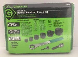 Greenline 7238sb Manual Knockout Punch Kit