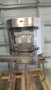 Commercial Automatic Orange Kiwi Dicer Chopper Conveyor Line Tested 4 Blades