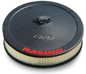 Proform 302 352 Air Cleaner Assembly Round In Black Steel Fits Ford 13