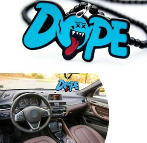 Mario Ghost Dope Car Rearview Mirror Hanging Charm Dangling Decoration Pendant