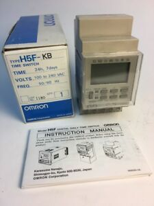 New In Box Omron Digital Daily Time Switch H5f kb