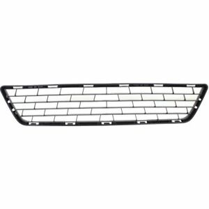 New Front Bumper Lower Black Grille Insert Grill Fits 2013 2015 Sentra S Sl Sv