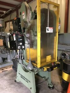 Minster 4 32 Ton Stamping Press W 2 Stroke 2 1 4 Slide Adj Excellent Cond