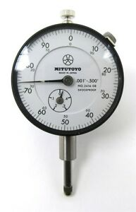 New Old Inventory Mitutoyo Dial Indicator 2414 08