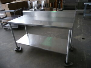 Used Stainless Steel Table 5 X 24