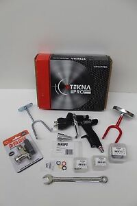 Spray Gun Devilbiss Tekna 703567 1 2 1 3 1 4 Digital Gauge Hooks Wrench Paint