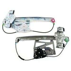 Window Regulator For 2000 2005 Cadillac Deville Set Of 2 Front And Rear Right