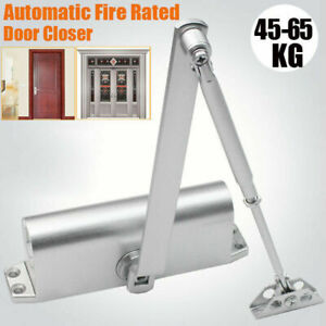 Adjustable Overhead Door Closer Automatic Fireproof For Door Weight 45 65kg Usa