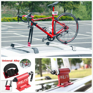 Car Roof Bike Bicycle Mount Carrier Rack Quick Release Alloy Fork Lock Universal