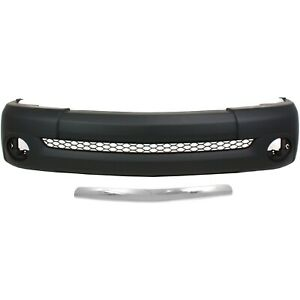 Bumper Cover Kit For 2003 2006 Toyota Tundra Front With Bumper Trim 2pc