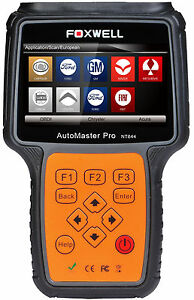 For Fiat Nt644 Pro Universal All Systems Diagnostic Scanner Code Reader Foxwell