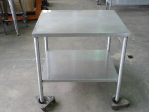 Used Stainless Steel Work Table 36 X 30