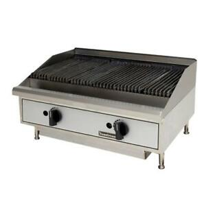 Toastmaster Tmlc24 24 Countertop Lava Rock Gas Charbroiler Grill
