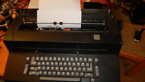 Ibm Selectric Ii Electric Typewriter nice Black Color works Great extra Ribbons