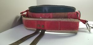 Weaver 1035 Size Sm Climbing Saddle Belt Pre Owned