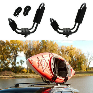 closeout Abn J rack Roof Mounted Kayak Carrier Weather Resistant Steel