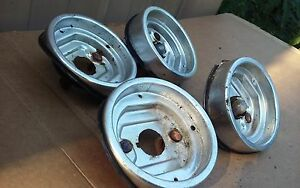 1960 60 Chevy Belair Biscayne Tail Light Housings