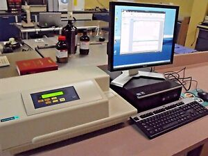 Molecular Devices Spectramax 190 Microplate Reader Pc Softmax Pro 6 3 Software