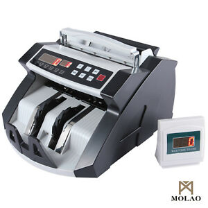Bn Cash Money Bill Counter Bank Currency Counting Machine Uv Mg Counterfeit