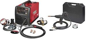 Lincoln Sp 180t Mig Welder 220v Recondition U2689 2 W K2532 1 Aluminum Spool Gun