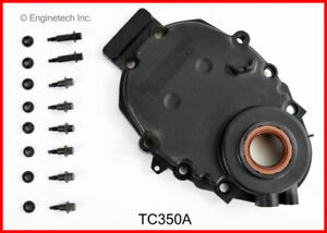 Enginetech Chevy 350 Vortec Plastic Timing Cover W o Sensor Hole 96 02