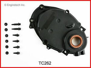 Enginetech Chevy 262 4 3l Plastic Timing Cover W Sensor Hole 96 03