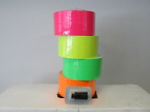 Monarch 1131 Price Gun Pink Green Orange Yellow Fluorescent 2 Rolls Each W Ink